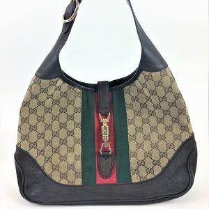 Gucci Jackie Original GG Hobo Handbag